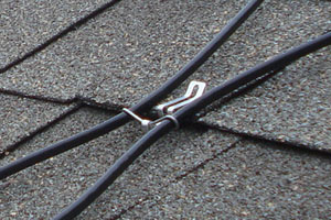 Residential Ice Melt Cable attachment